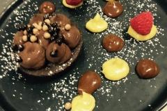 Tarte chocolat passion /caramel
