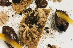gourmandise au chocolat et gianduja
