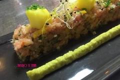 tartare aux 2 saumons